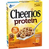 Cheerios Protein Oats and Honey Breakfast Cereal, 14.1 oz