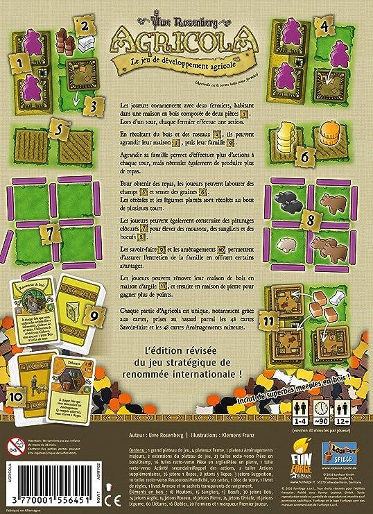 Agricola: Amazon.es: Juguetes y juegos