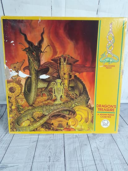 Amazon Dragons Treasure A Jigsaw Puzzle Casse Tete