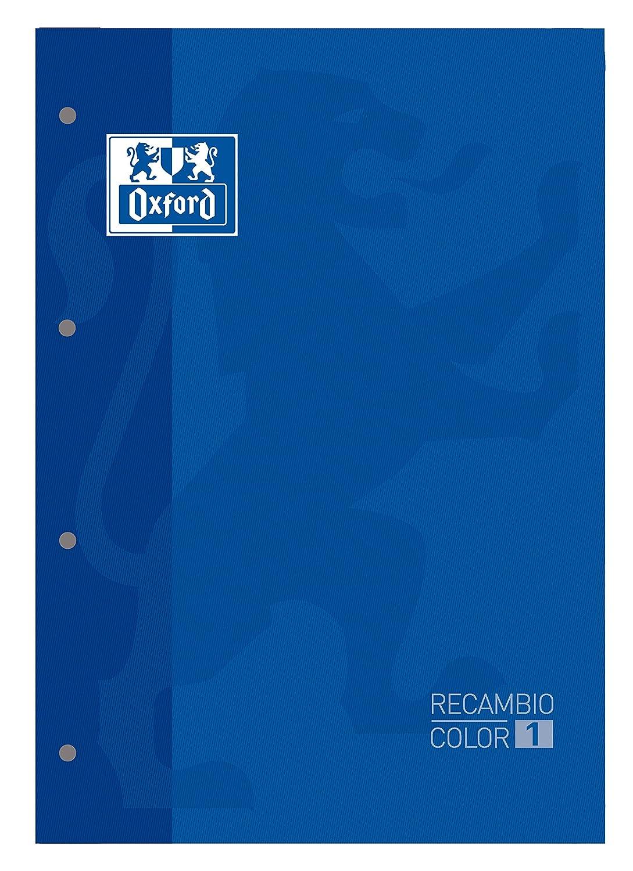 Recambio Color-1, encolado, A4, cuadriculado 5x5, azul marino Hamelin Brands 100102760