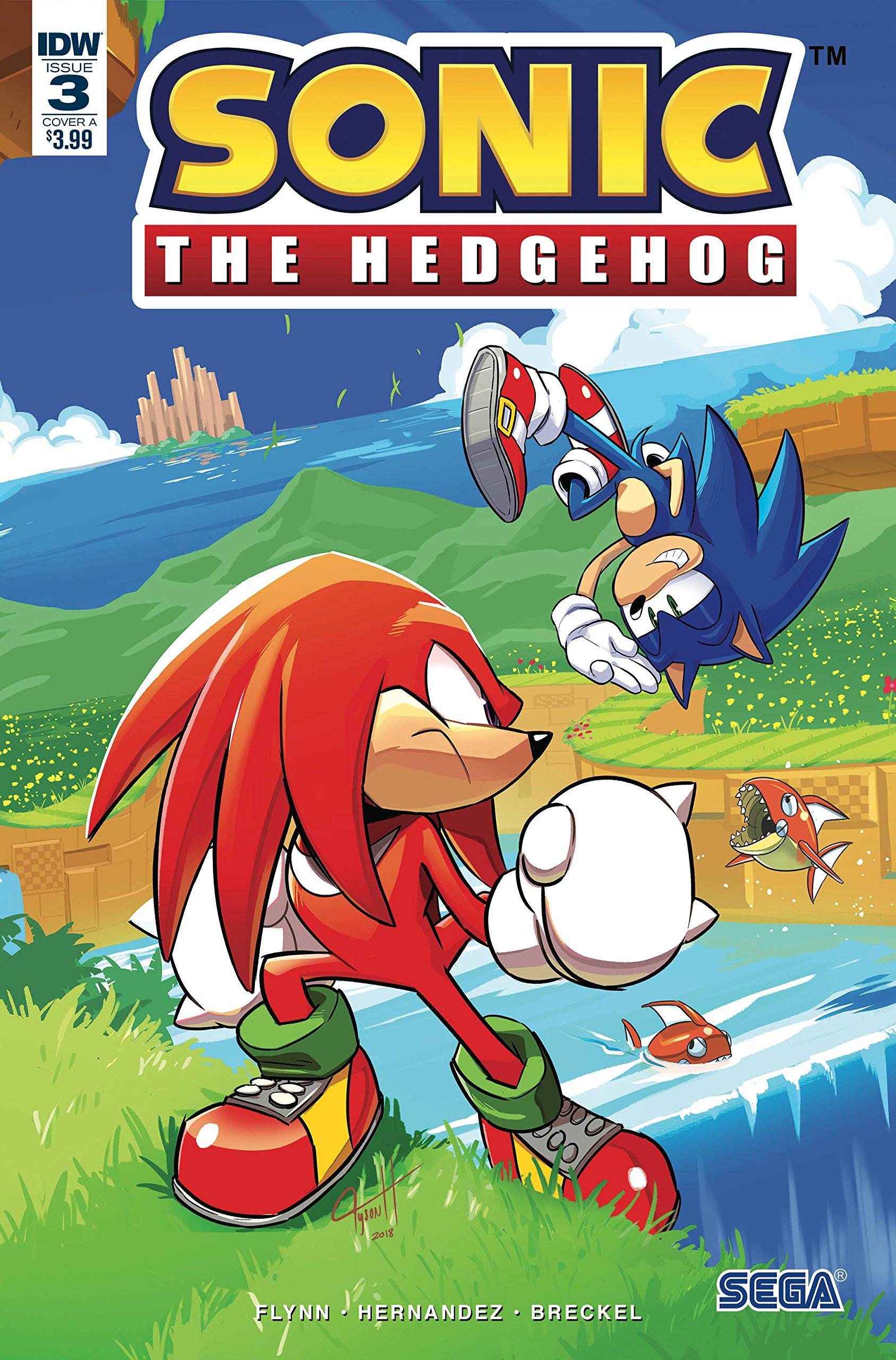 Sonic The Hedgehog 3 Cover A Amazon Com Books