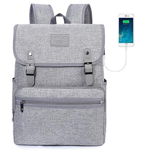 1b4ee64688 Laptop Backpack Men Women Business Travel Computer Backpack School College  Bookbag Stylish Water Resistant Vintage Backpack