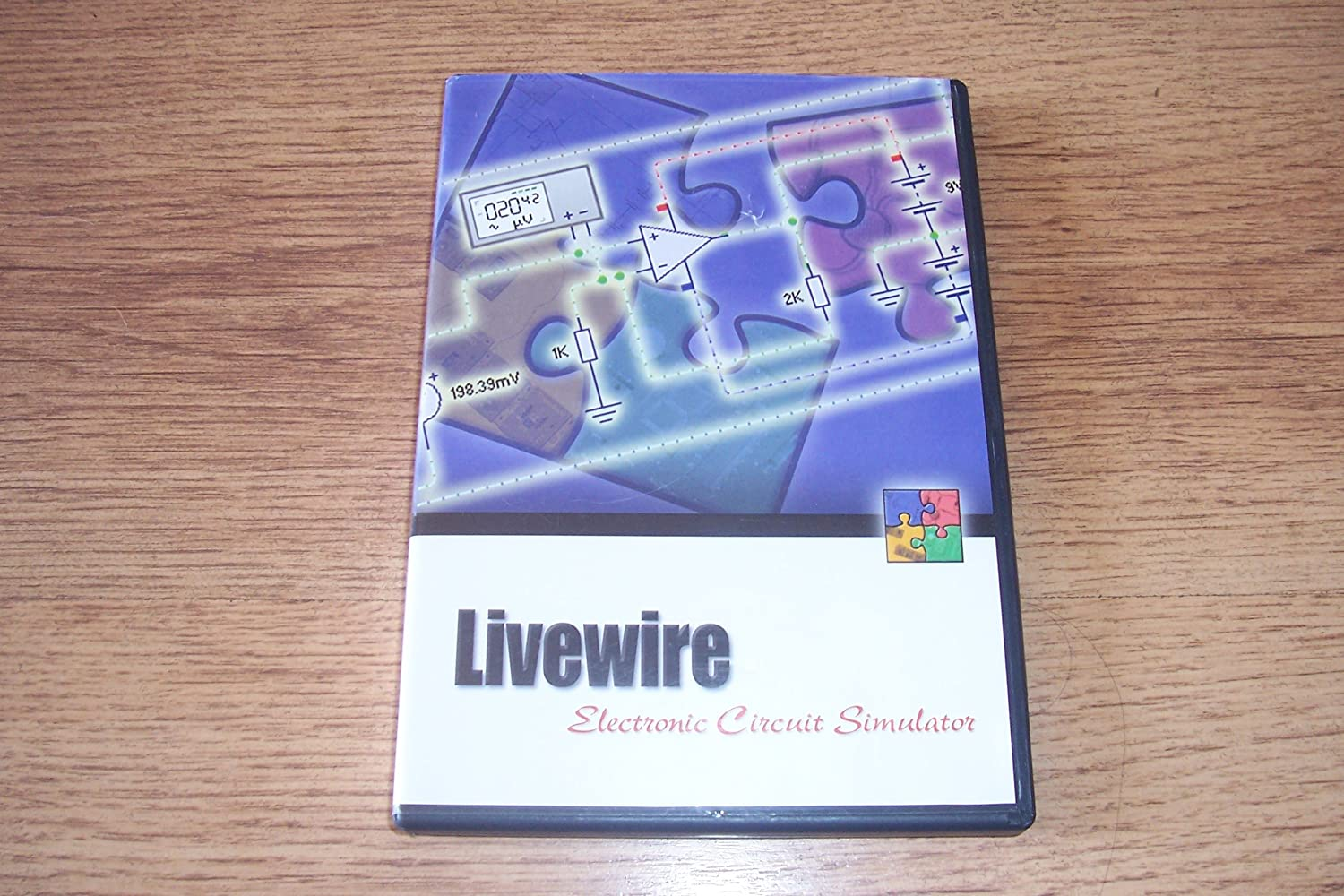 Livewire Standard Electronics Circuit Wizard Edition Simulation Menu Window Of
