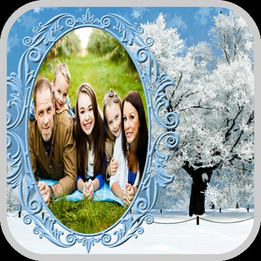 Winter Frame Photo Maker -