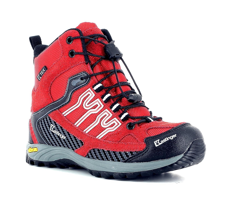 Kastinger Tour Cross Mid, Hochwertiger Trekking- und Wanderstiefel für Kids und Jugendliche, K-Tex Membran für Wasserdichtigkeit und Atmungsaktivität, Praktische Schnellschnürung