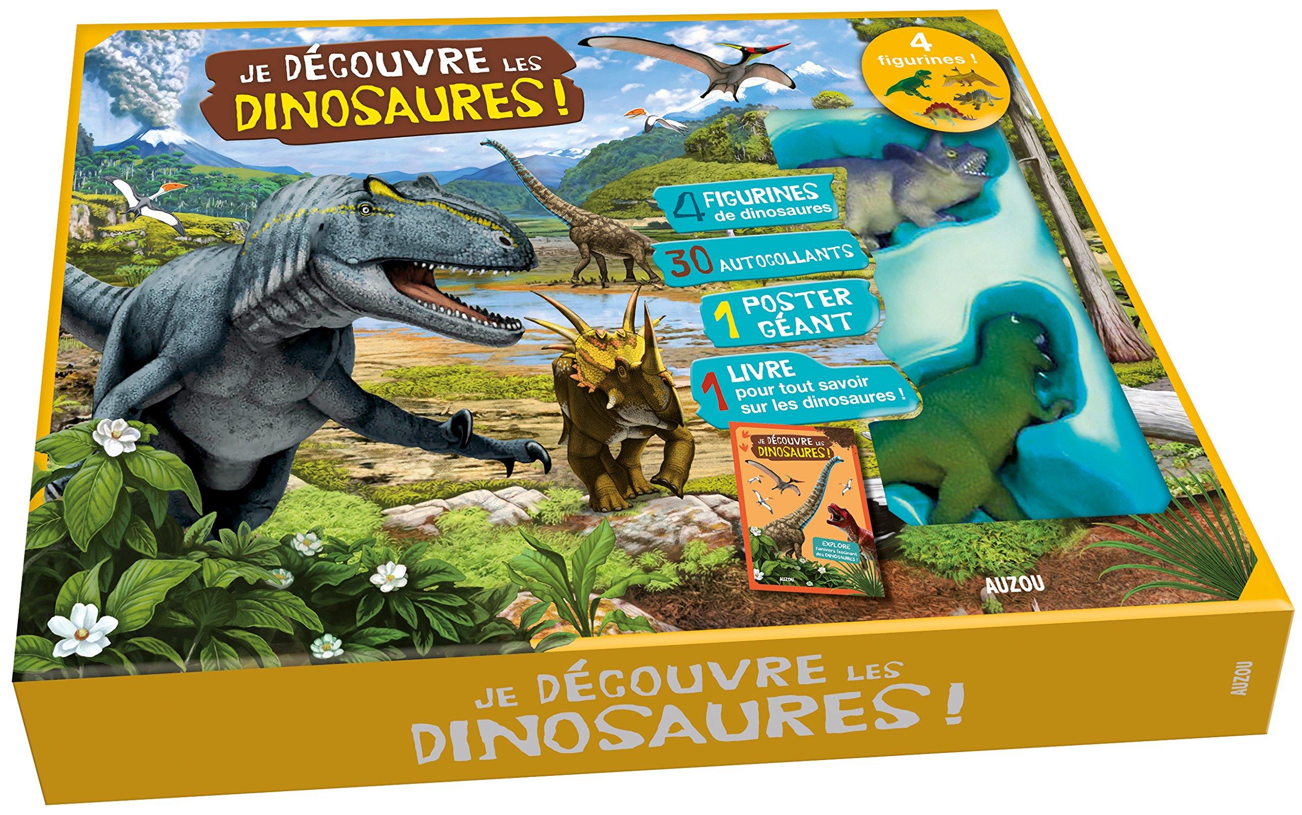 Je Decouvre Les Dinosaures Contient 4 Figurines 30