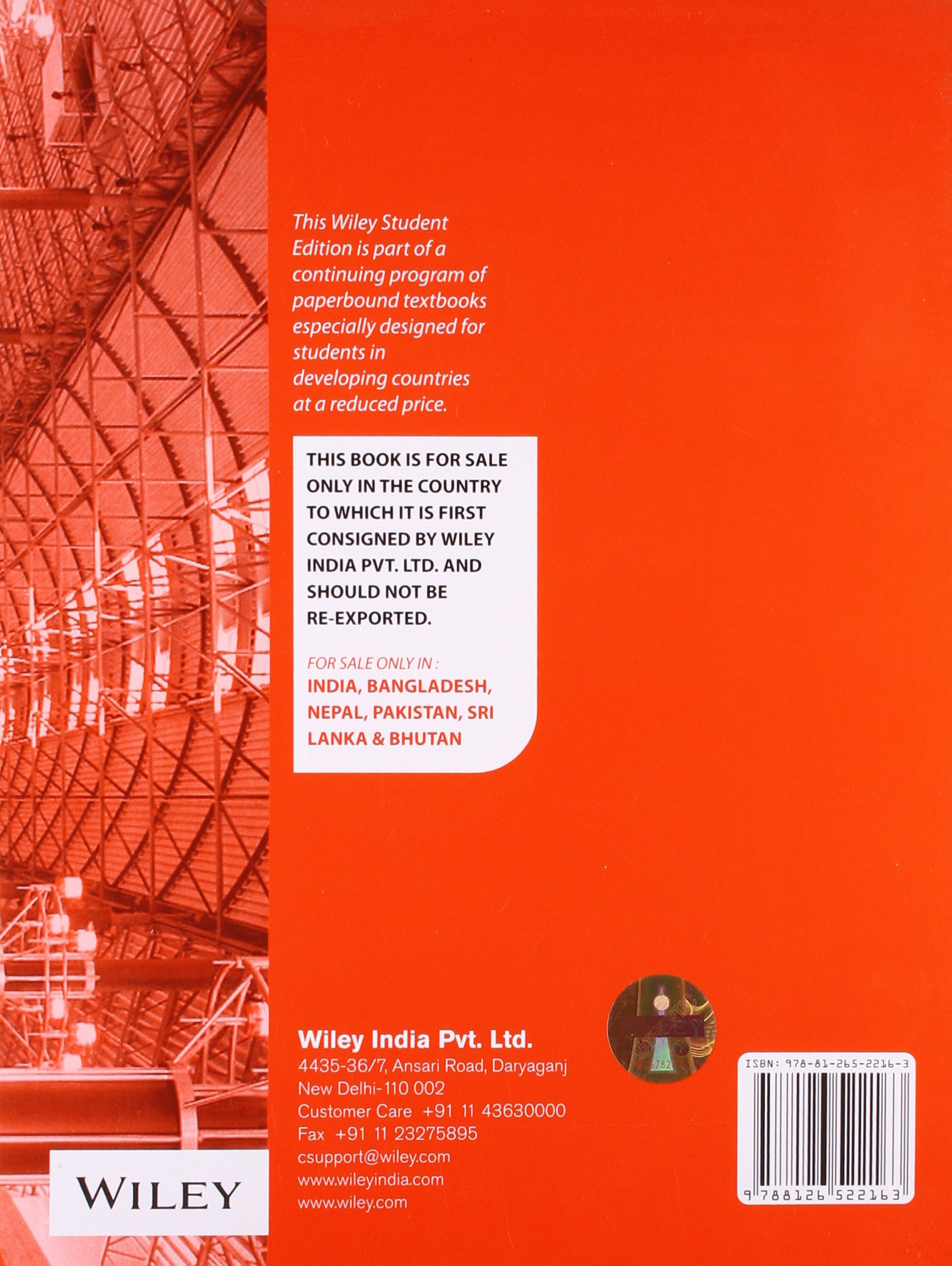Advanced Mechanics of Materials (International Edition) Edition: Sixth:  Boresi: 9788126522163: Amazon.com: Books