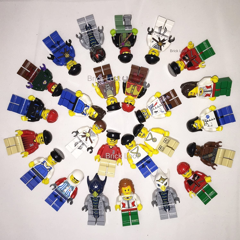 Lego Lot Of 10 Minifigures Random Lot Star Wars Ninjago /& More US Seller