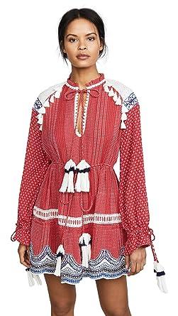 164c0f5266f Hemant and Nandita Women s Long Sleeve Dress at Amazon Women s Clothing  store