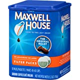 Maxwell House Original Blend Ground Coffee, Medium Roast, 10 Filter Packs (Pack of 4)