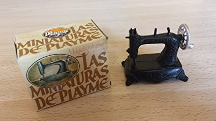 Sacapuntas máquina de coser antigua, Playme, (años 70-80) en color y con caja original. No 924: Playme: Amazon.es: Oficina y papelería