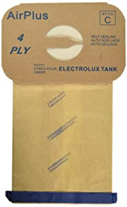 EnviroCare Replacement Vacuum Bags for Vacuum Bags for Electrolux Canisters - Style C 48 Bags