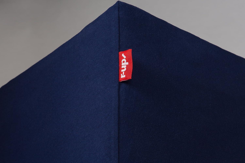 r-up Beste Spannbettlaken 180x200-200x220 bis 35cm H/öhe viele Farben 95/% Baumwolle 5/% Elastan 230g//m/² Oeko-Tex stressfrei auch f/ür Boxspringbetten anthrazit