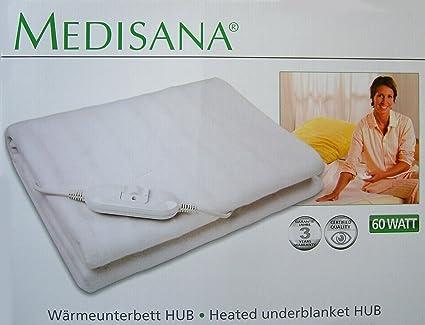 Medisana térmica de cubrecama de aprox. 150 x 80 cm, manta eléctrica