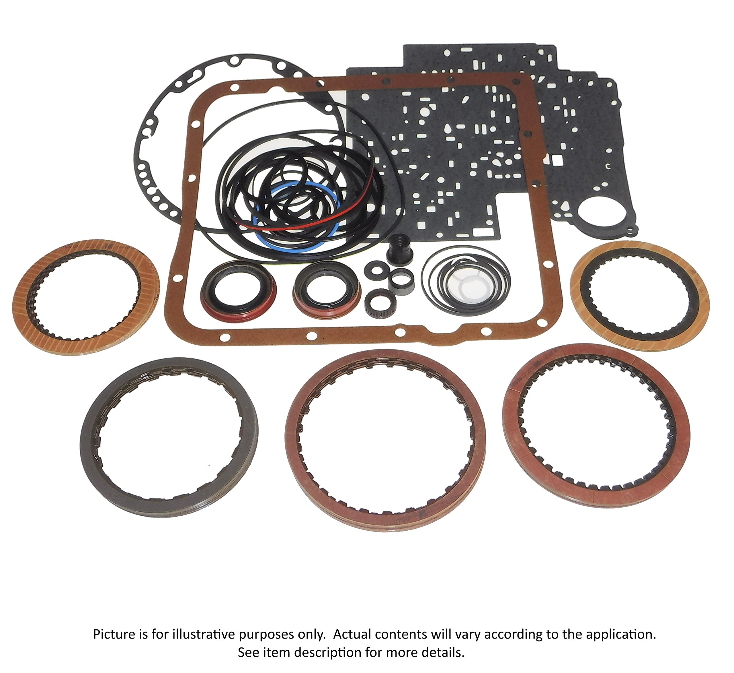 Transmaxx Transmission Rebuild Banner Kit Less Steels U341E U340E