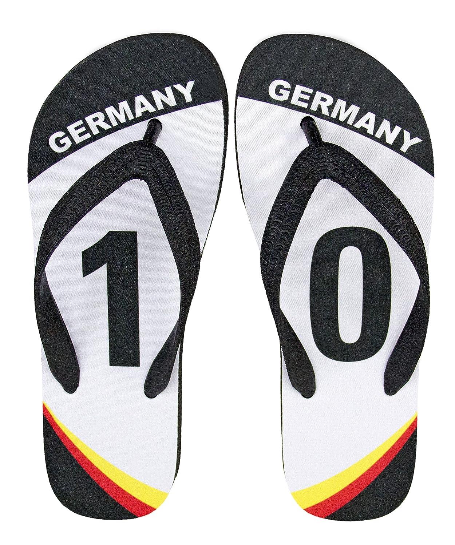 WM 2018 Deutschland Merchandise Fanartikel Flip Flop Zehentrenner ...