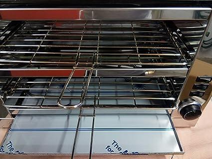 Tostador pan profesional, dos pisos con temporizador ...
