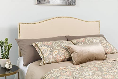 EMMA OLIVER Upholstered Queen Size Headboard