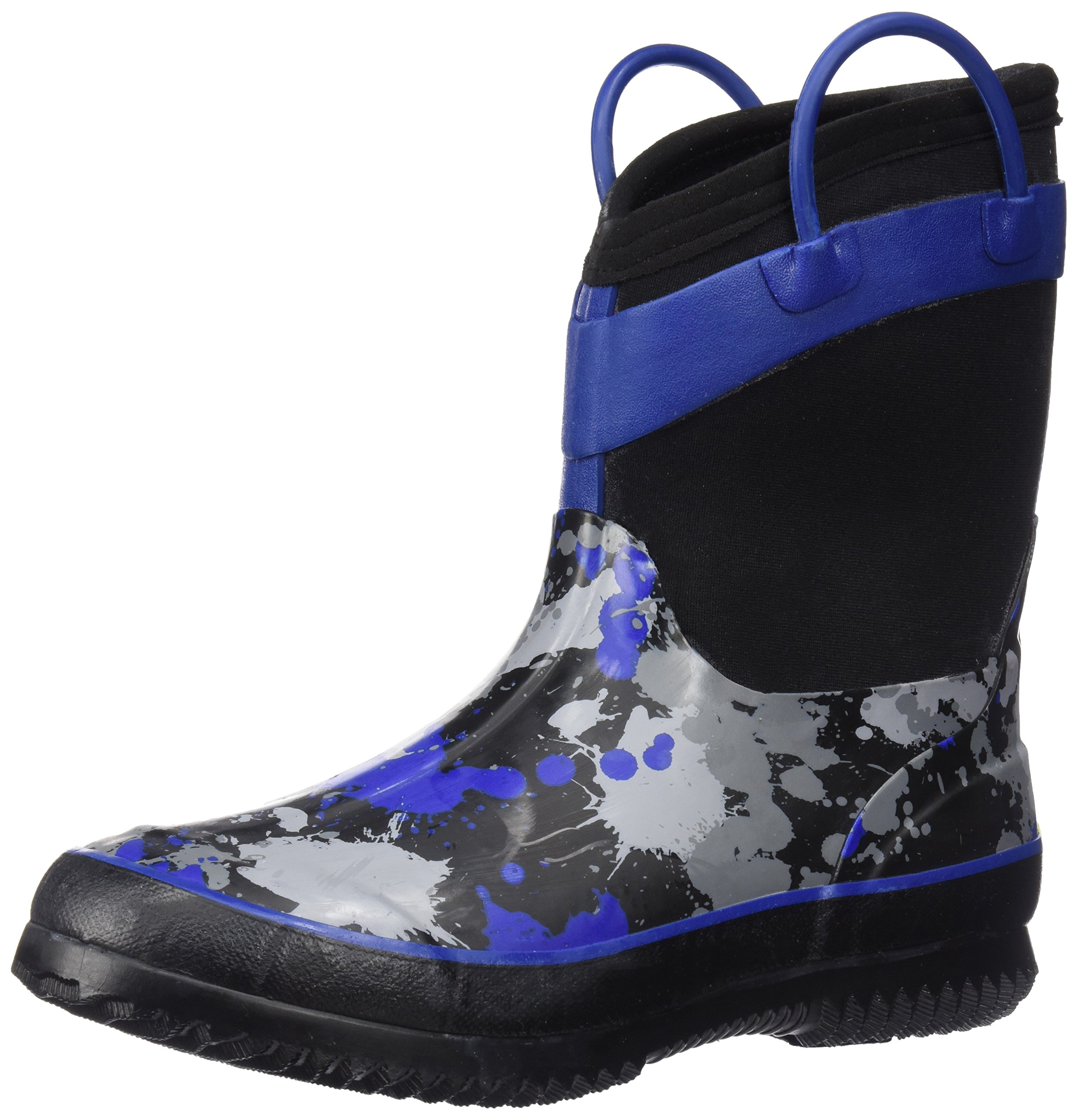 Western Chief Kids Cold Rated Neoprene Boot, Paintball Splat, 13/1 M US Little Kid