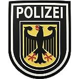 JTG Ärmelabzeichen Bundespolizei - Patch, fullcolor / 3D Rubber Patch