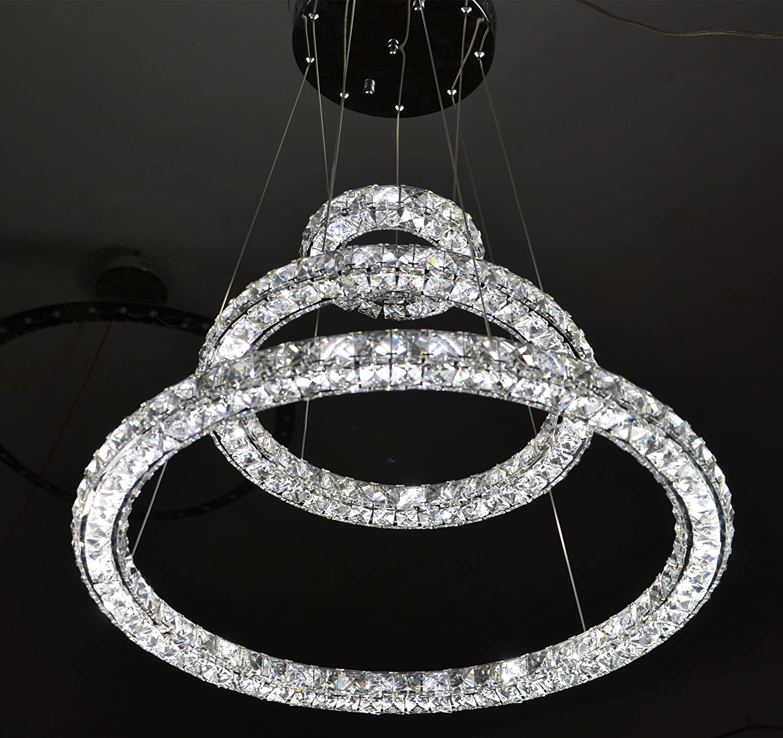 Amazon New Modern Simple Stylish K9 Crystal Chandelier