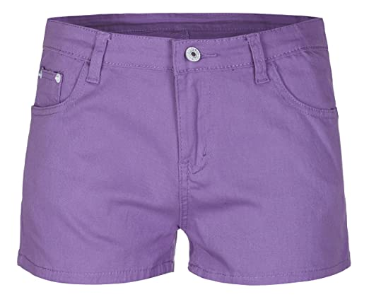 Women's Girls Ladies Summer Shorts Hot Pants Stretchy XXS / XS / S / M / L:  Amazon.co.uk: Clothing