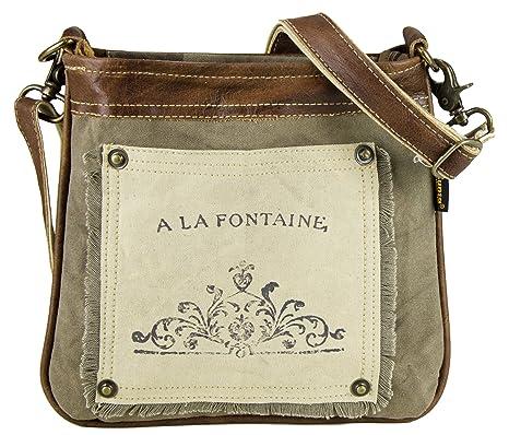Bolso de compra hombre señora Sunsa Vintage Bolso de hombro bolso de mano hecho de tela. Pasa ...