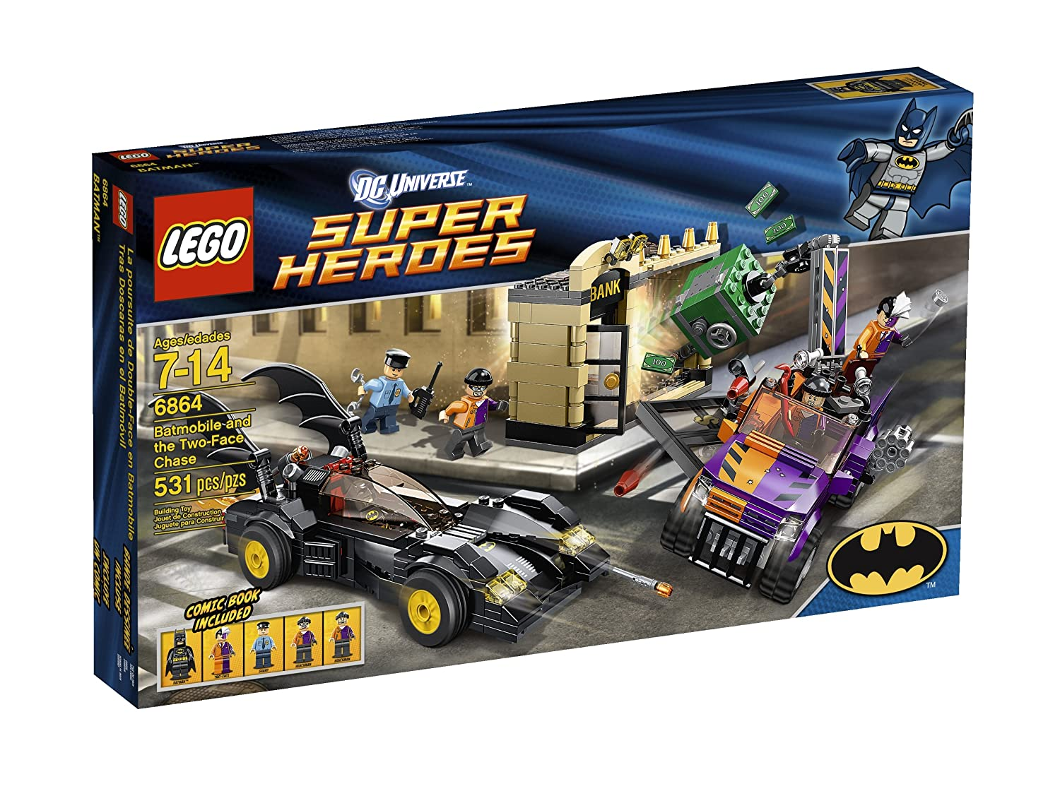 LEGO Super Heroes Batmobile and The Two-Face Chase [6864]