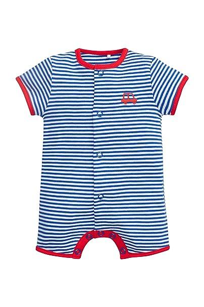 next Bebé Niño Pack De Cuatro Peleles Cortos Rayas (0 Meses - 2 Años) Corte Estándar 1.5-2 años: Amazon.es: Ropa y accesorios