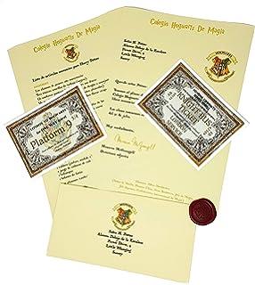 Paladone Set De Escritura Harry Potter Hogwarts Letter ...