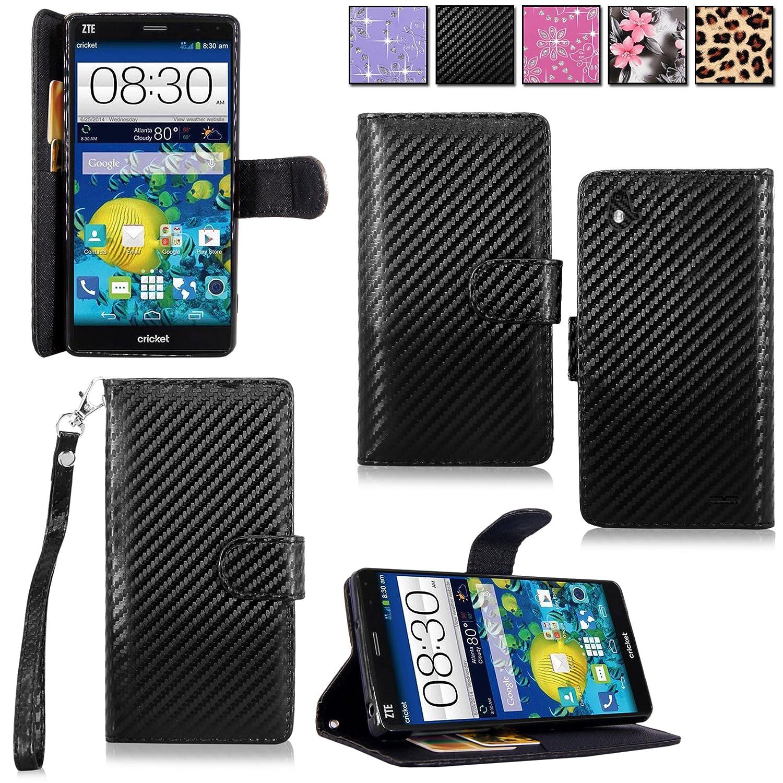 Cellularvilla Wallet Leather Pocket Carbon Image 1