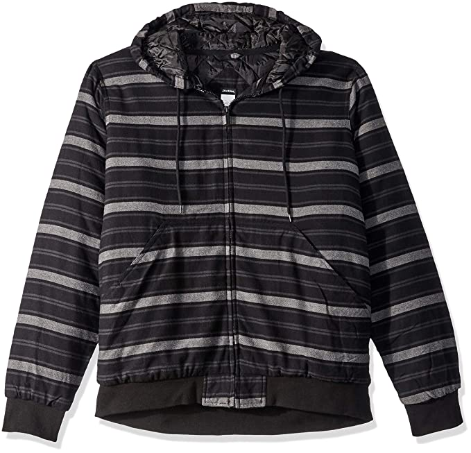 a9c8f5c31e Dickies Men s Modern Fit Quilted Bomber Shirt Jacket at Amazon Men s  Clothing store