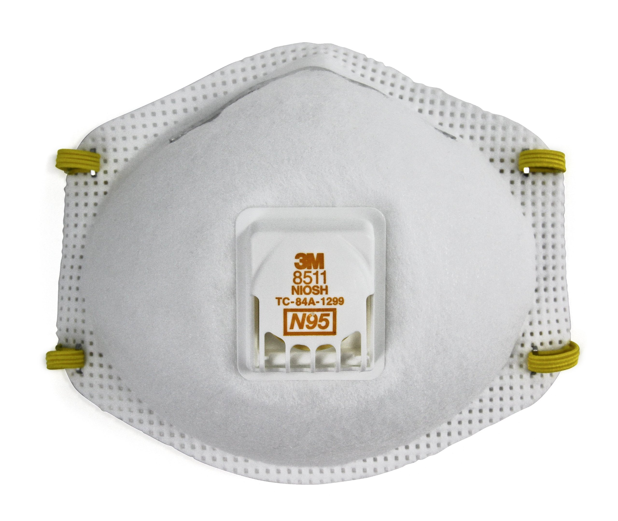 3M Particulate Respirator 8511, N95 (Pack of 80)