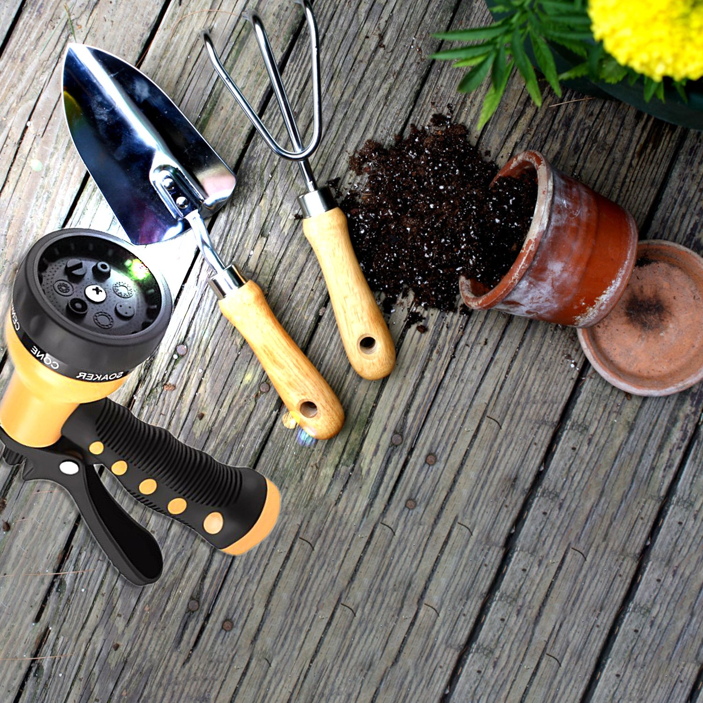 amazon com etronic heavy duty garden hose nozzle spray nozzle