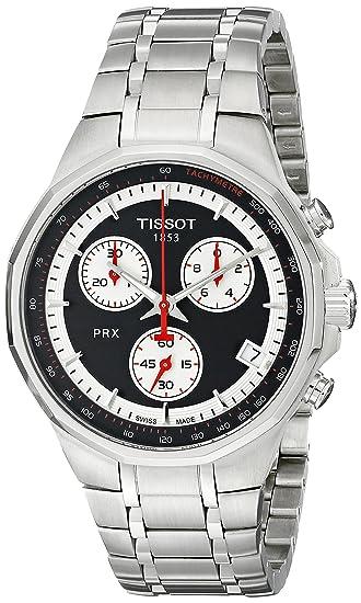 Tissot T077.417.11.051.01 - Reloj de Pulsera Hombre, Acero Inoxidable, Color Gris: Amazon.es: Relojes