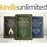 Wicca Spellbook Starter Kit: A Book of Candle, Crystal, and Herbal Spells (English Edition)