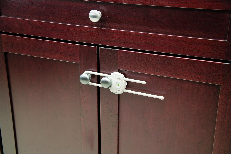 Safety 1st Cabinet Slide Lock White