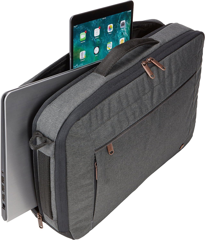 Nero Case Logic ERACV-116 Era Borsa per Laptop fino a 15.6 e Tasca Dedicata per un Tablet da 10.5