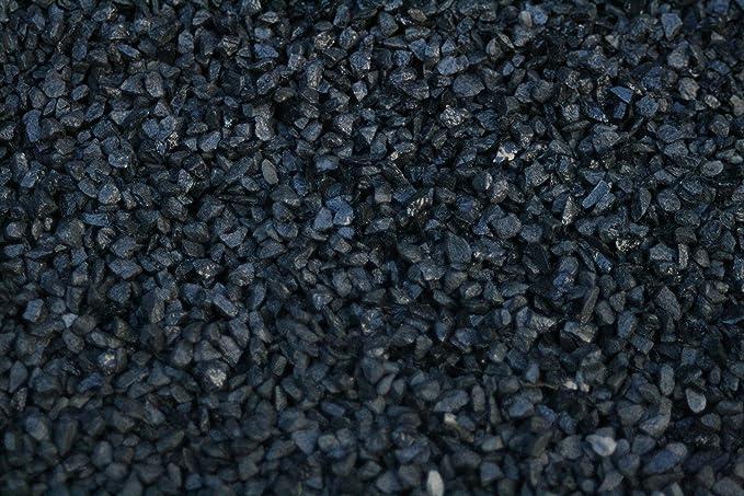 Piedra negra jardin (1000 kg, 3-6 mm): Amazon.es: Jardín