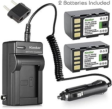2x batería para JVC gs-td1 gy-hm100 gz-hd10 gz-hd3 gz-hd30 gz-hd300 gz-hd320 gz-hd40