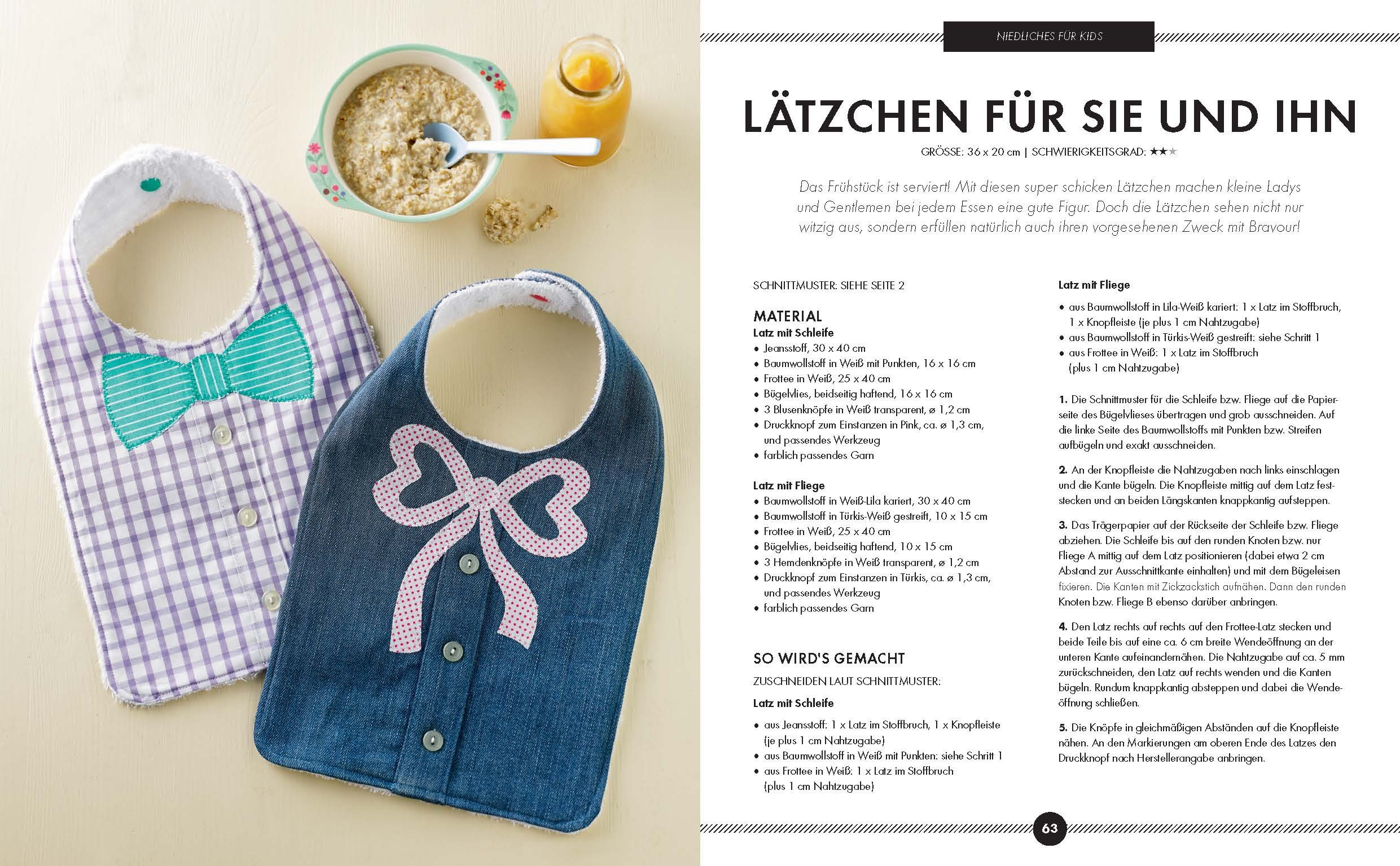 Schönes aus Stoffresten nähen: Das Makerist-Nähbuch - Mit ...