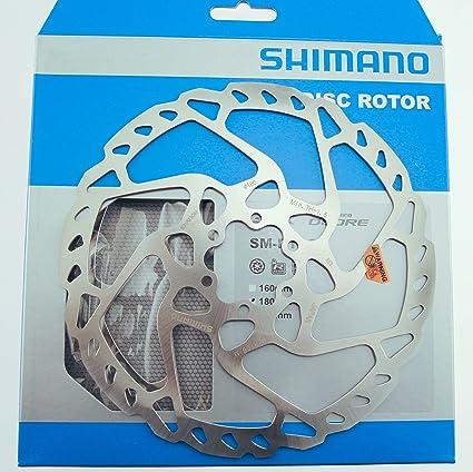 1 or 2 Tektro Wavy 6 Bolt Disc Brake Bike Rotor 160//180//203mm Road CX Mountain