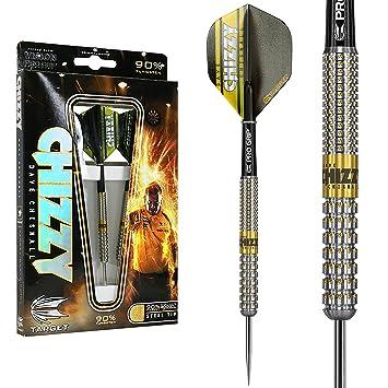 /Dave Chisnall Pixel Chizzy Pixel Stahl Tip Darts 22/g Target Darts Dartpfeile/