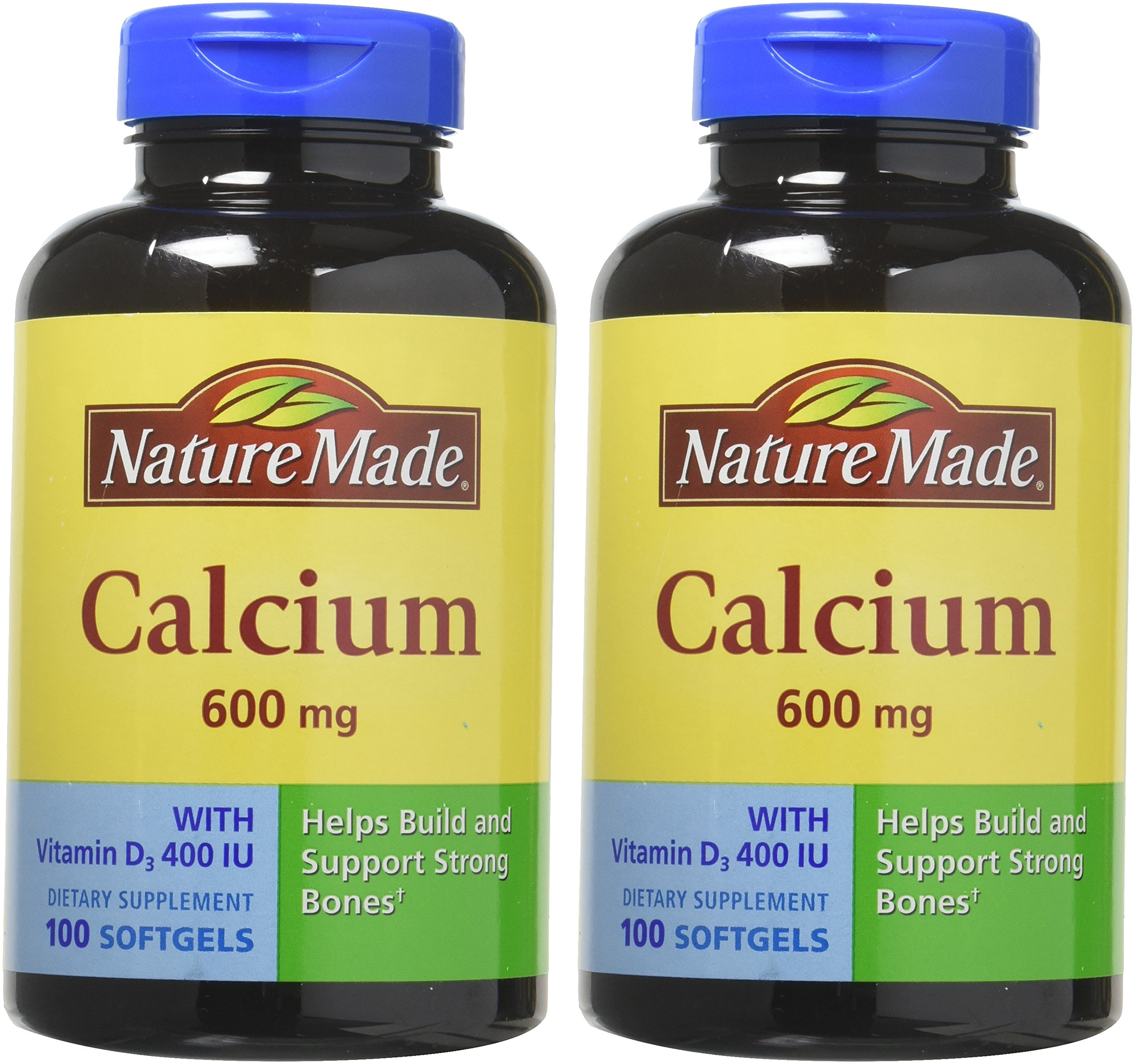 Calcium 600 Mg with Vitamin D 100 Liquid Softgels