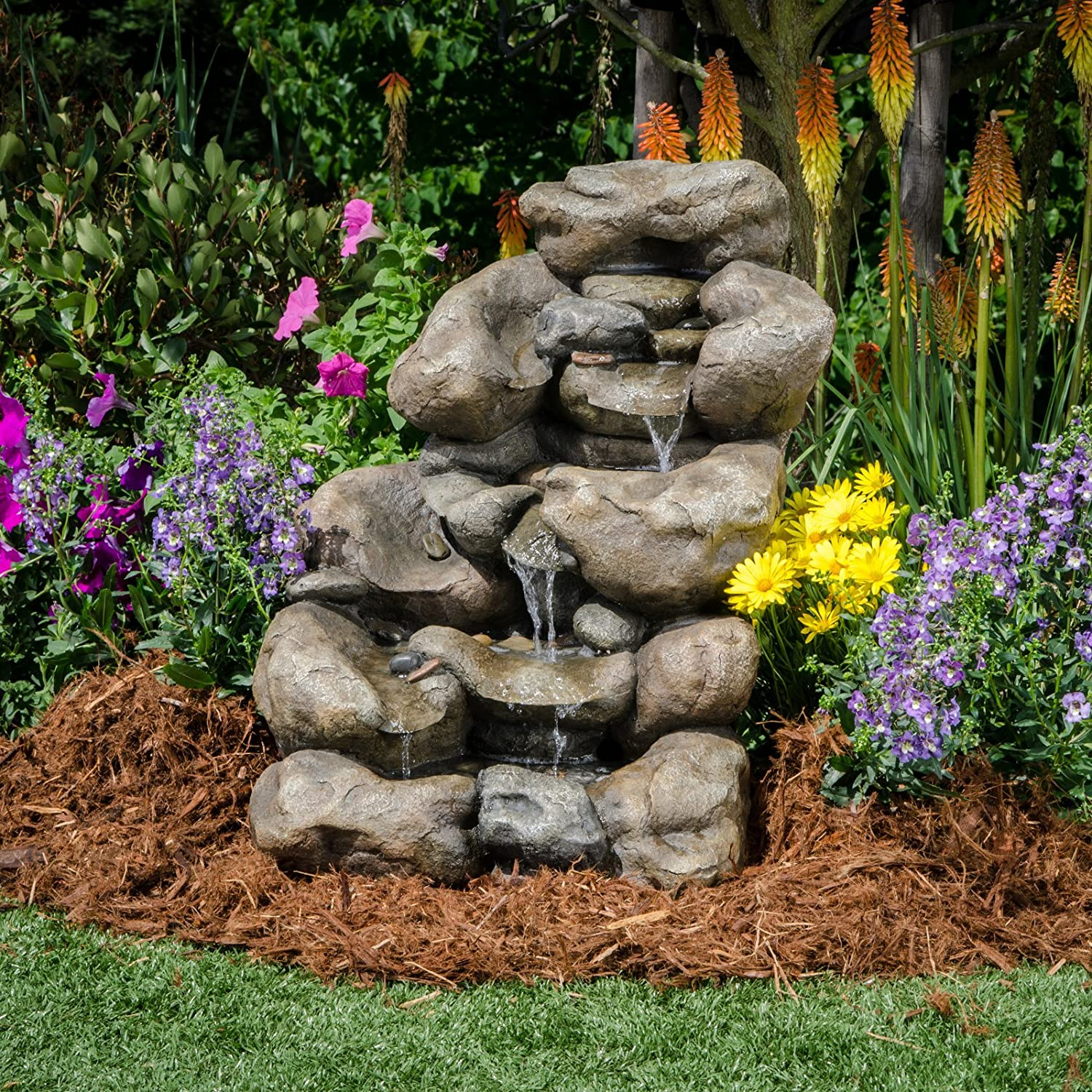 BOND MANUFACTURING Y96596 River Rock Fountain