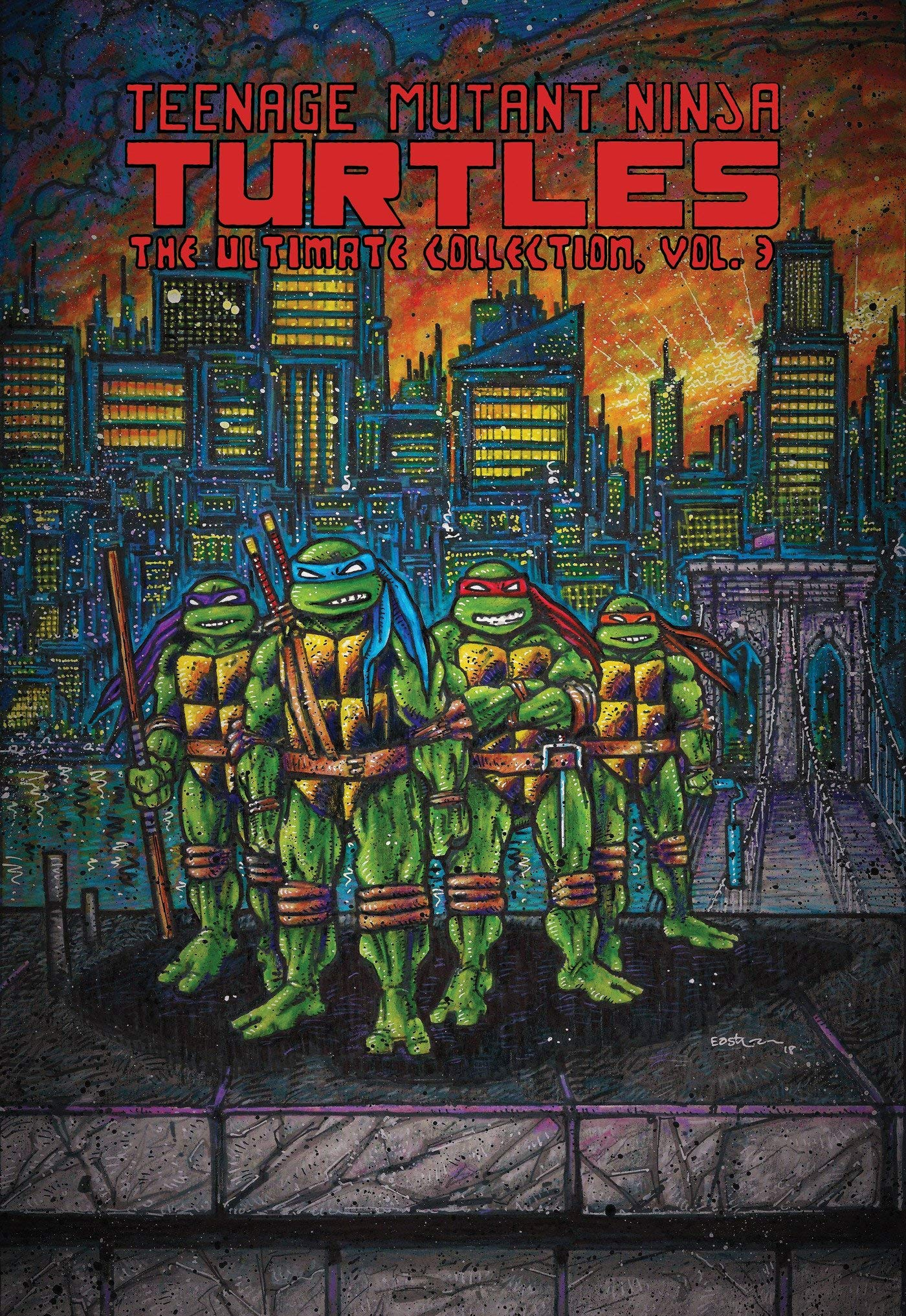 TMNT ULT COLL TP VOL 03 Teenage Mutant Ninja Turtles: The ...