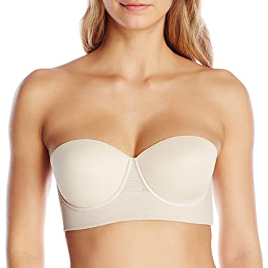 6de98b0eec01a Annette Women s Strapless Control Bra with Extra Sides Support at ...