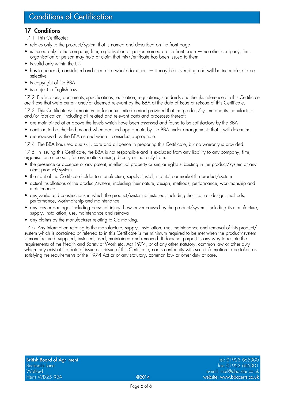 /1200/G BBA Negro Extra Heavy Duty Polietileno l/áminas de pl/ástico DPM DPC h/úmedo prueba membrana 3/m x 4/m 300/mu/