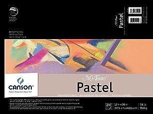"""Mi-Teintes Pastel almohadilla, 0, Colores Variados, 12""""X16"""", 1"""
