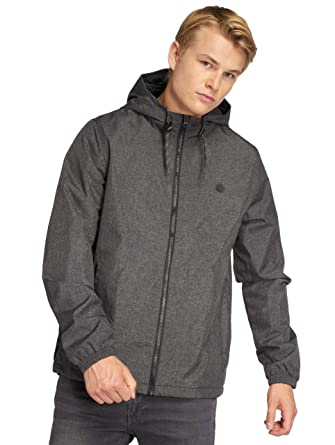 3bc6e85ae8 Element Alder Jacket Flint Black Heather: Amazon.fr: Vêtements et ...